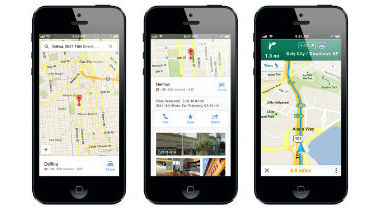 Google Maps regressa ao iPhone após fiasco da Apple