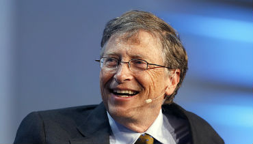 Bill Gates é o mais rico do mundo