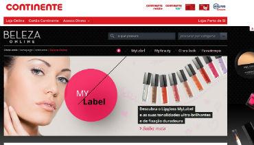 Continente lança site dedicado à beleza