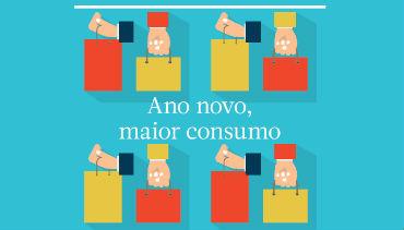 Ano novo, maior consumo