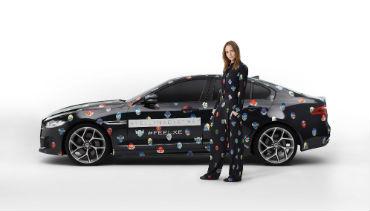 Jaguar com Stella Mccartney no novo XE