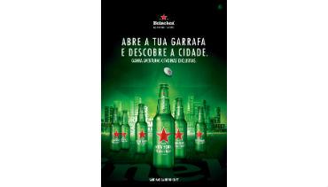 Heineken convida a descobrir as cidades