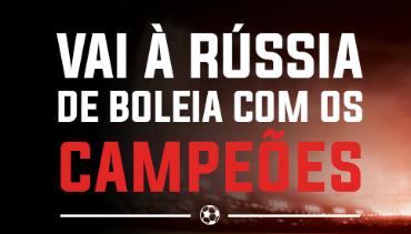 Ir à Rússia para ver o Benfica… no mesmo avião da equipa