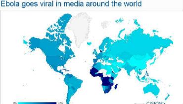 Qual a relevância editorial que Portugal está a dar ao ébola?