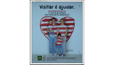 McDonald's faz campanha por um McSorriso