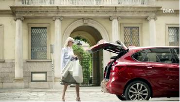 BMW Série 2 Active Tourer anuncia embaixadora
