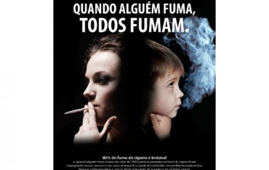 """""""Eu Fumo, Tu Fumas"""" contra o fumo ambiental"""