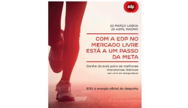 Quer correr a maratona? A EDP está a oferecer inscrições