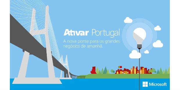 "Microsoft alarga ""Ativar Portugal"" a startups"