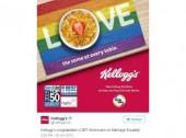 Casamento gay aprovado pelos EUA e pelas marcas