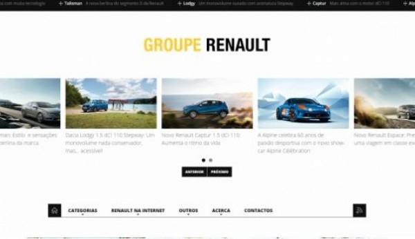 Renault Portugal já tem blogue