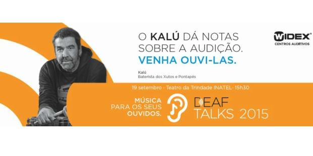 Kalú fala sobre problemas auditivos nas Deaf Talks