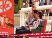 Kit Kat oferece chocolates a quem faz pausas