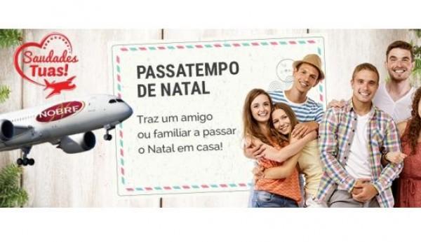 Nobre traz português emigrado a passar Natal com a família