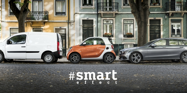 Smart effect invade Lisboa