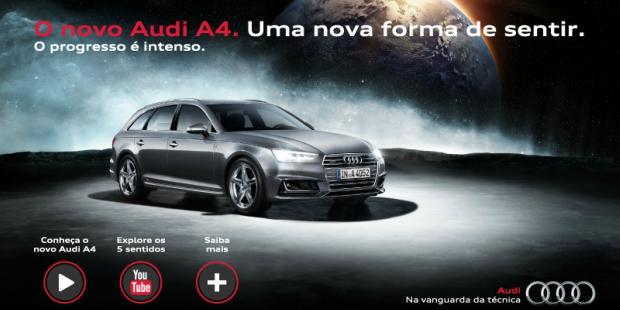 Audi usa tecnologia portuguesa em nova campanha