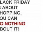 E se nesta Black Friday comprasse… nada?