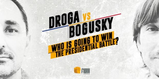 Droga e Bogusky em duelo pela presidência de festival