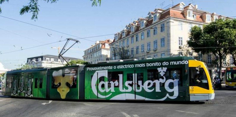 Carlsberg no eléctrico 15 de Lisboa