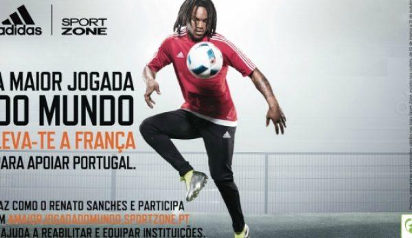 "Renato Sanches participa na ""Maior Jogada do Mundo"""