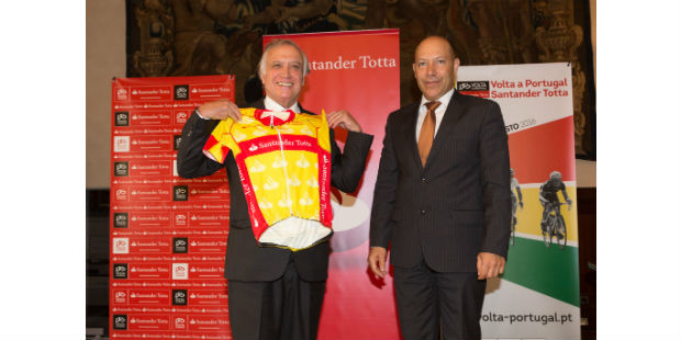 Santander Totta assume naming da Volta