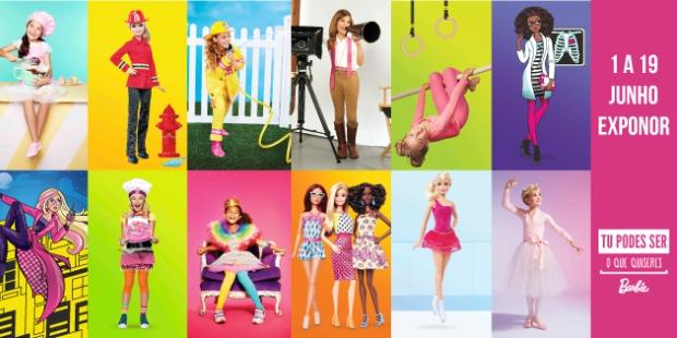 Barbie diz que crianças podem ser o que quiserem