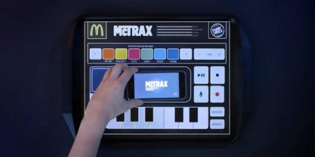 McDonald's transforma individuais em estúdio de música