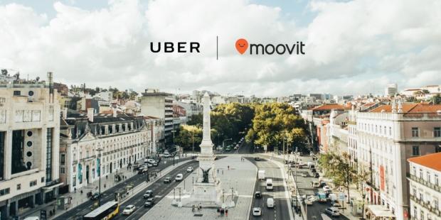 Uber junta-se à Moovit e revolucionam transportes