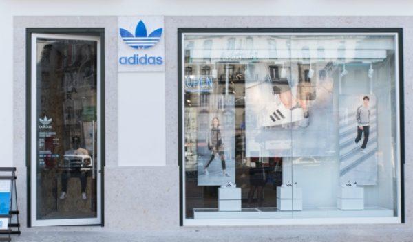 adidas abre amanhã a maior loja do País