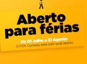 Fox Comedy gratuito durante o Verão
