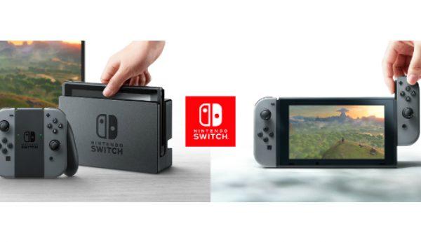 Nintendo Switch combina consola doméstica e portátil