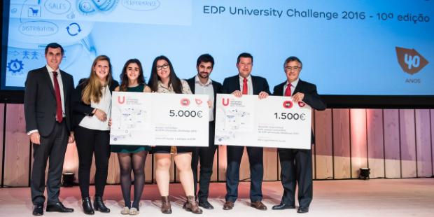 EDP University Challenge anuncia vencedores