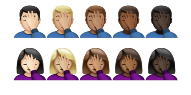 Apple lança 72 novos emojis