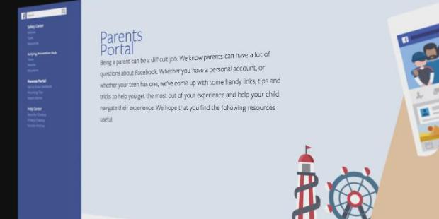 Facebook lança portal para pais