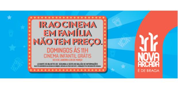 Cinema infantil gratuito no nova arcada - Centro comercial nova arcada ...