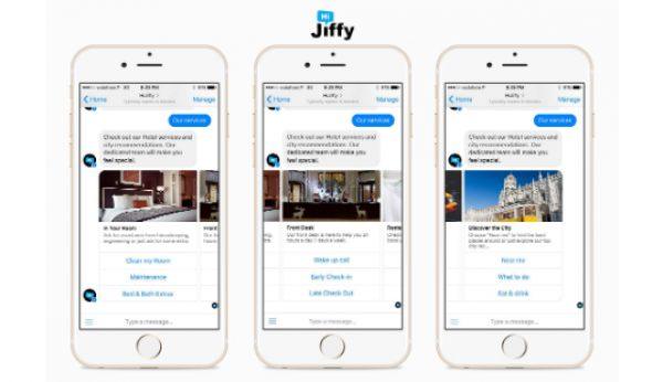HiJiffy: reservar quartos a partir do Messenger