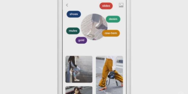 Pinterest lança pesquisa por imagens