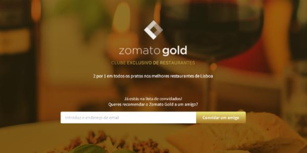 Zomato prepara versão Gold