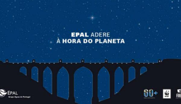 """Aqueduto das Águas Livres junta-se à """"Hora do Planeta"""""""