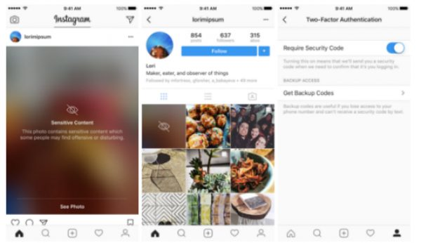 Instagram vai desfocar conteúdos sensíveis