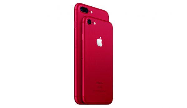 Apple lança iPhone vermelho e solidário