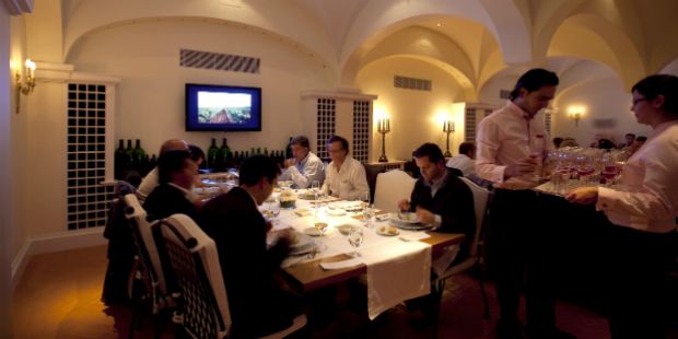Três regiões representadas nos jantares vínicos do The Yeatman