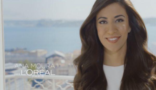 Ana Moura é o novo rosto L'Oréal