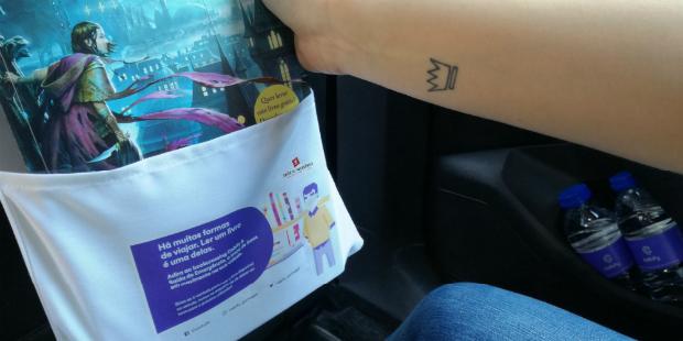 Cabify incentiva à leitura com troca de livros