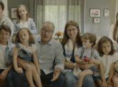 Família numerosa em campanha do Continente