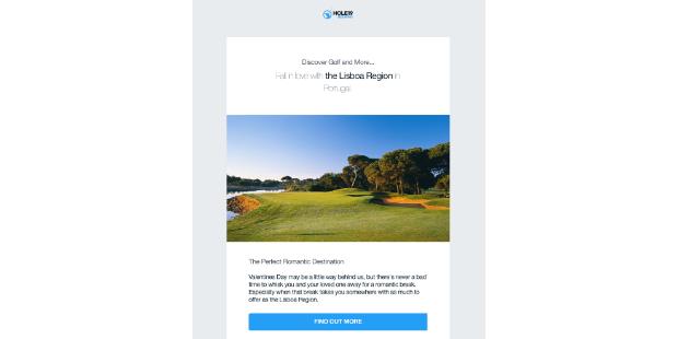 Hole19 promove turismo de golfe em Portugal