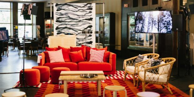 Ikea instala colecção Stockholm no Cinema São Jorge