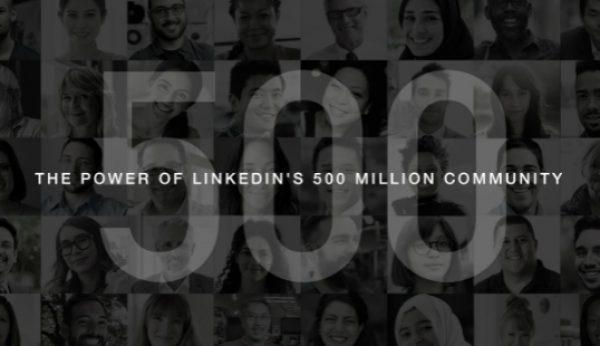 500 milhões estão no LinkedIn