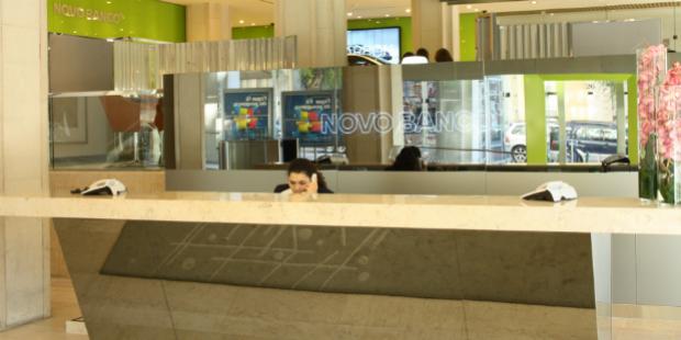Experience lounge no Novo Banco