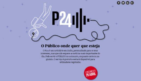 Público lança noticiário em áudio personalizado